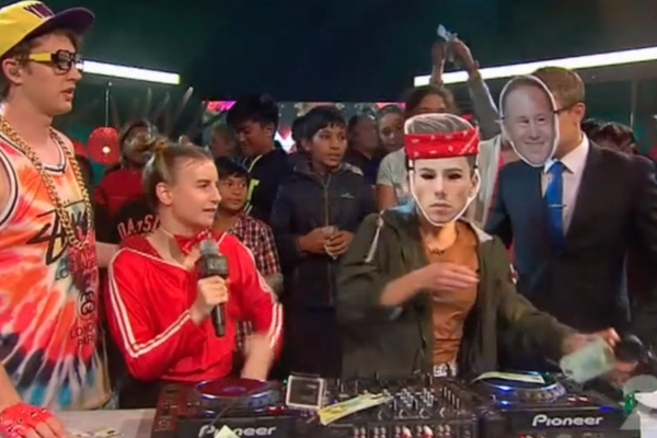 Kids TV show takes a dig at Max Key's DJing and the Prime Minister