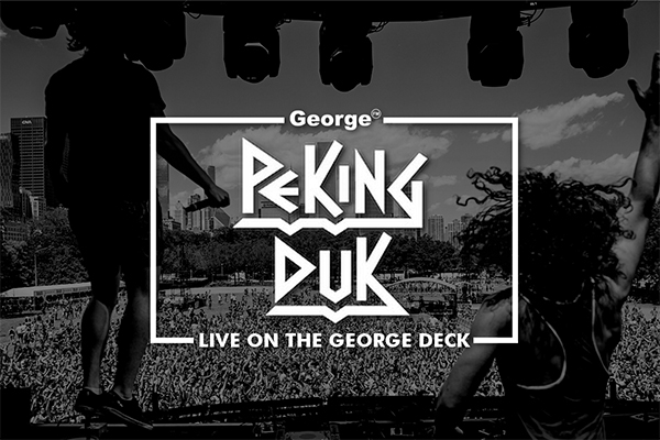 Peking Duk live on the George FM Deck this Friday!