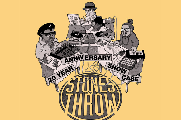Red Bull Sound Select Presents the Stones Throw 20th Anniversary Show