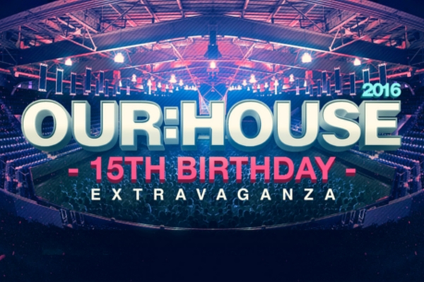 Our:House Festival 2016 - 15th Year Extravaganza