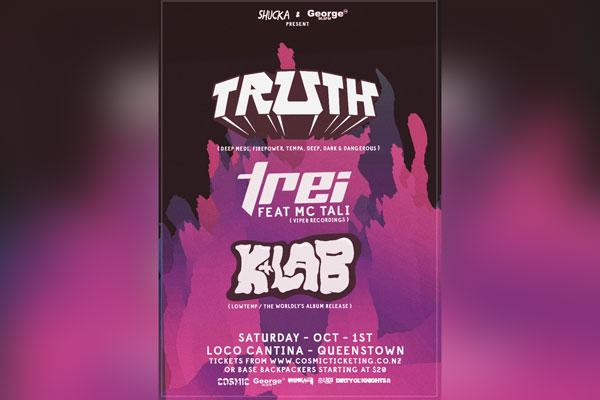 Truth, Trei ft. MC Tali & K+Lab (Queenstown)