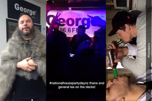 Did you make it onto the National House Party Day Official Snapchat?