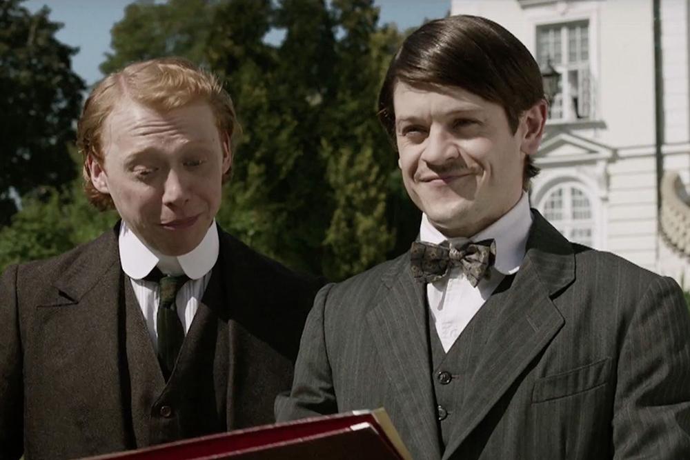Ramsay Bolton returns as Adolf Hitler