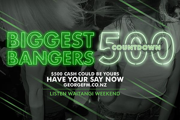 George FM Biggest Bangers 500 Countdown