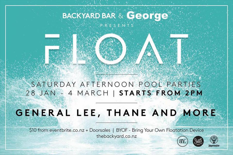 FLOAT at Backyard Bar