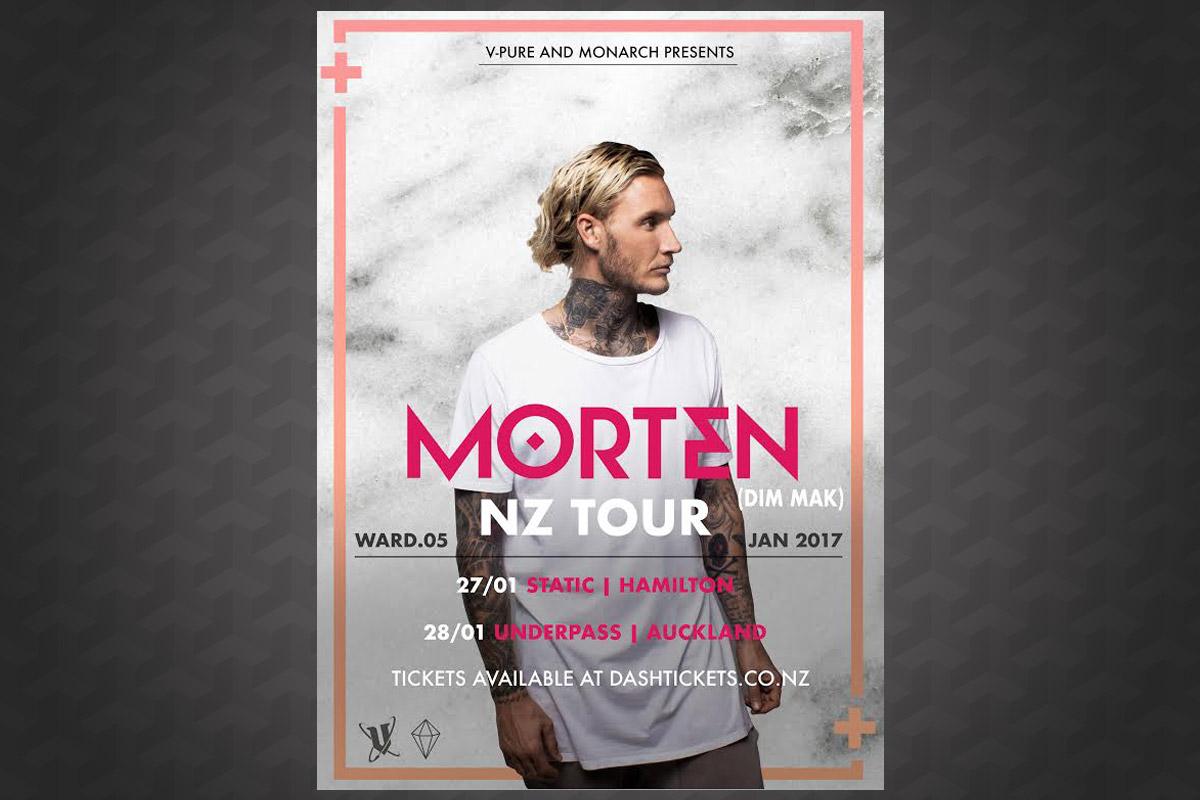 Morten NZ Tour