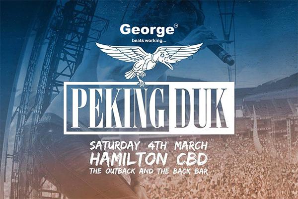 George FM Presents Peking Duk at The Outback Inn