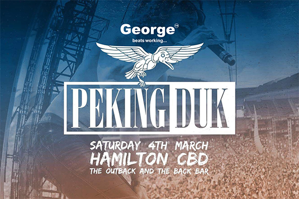 George FM Presents Peking Duk at The Outback Inn