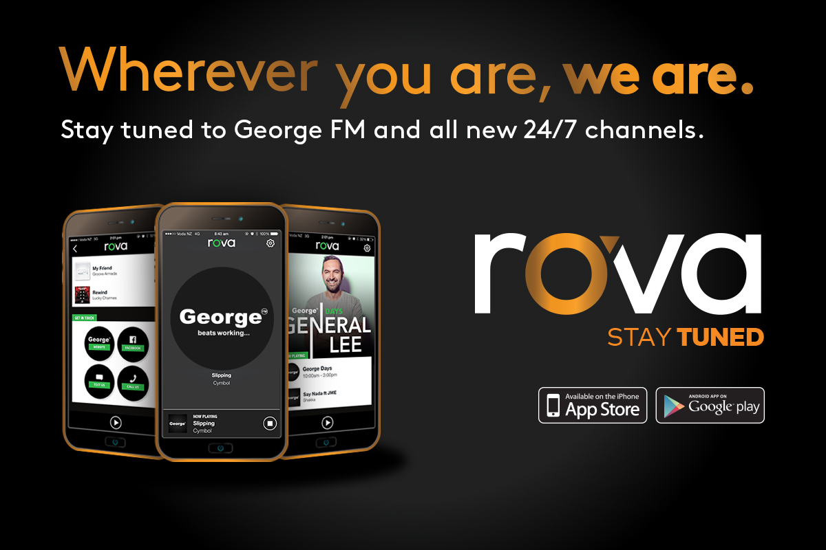 Introducing rova, tuning into George has never been easier