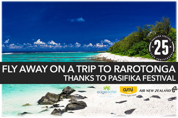 Win a trip to Raro with Pasifika Festival