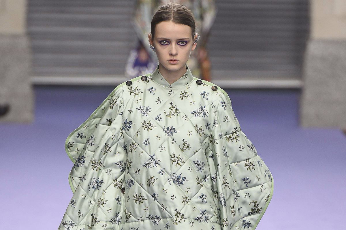 Duvet ponchos: Now you can wear your bed AND look fashun