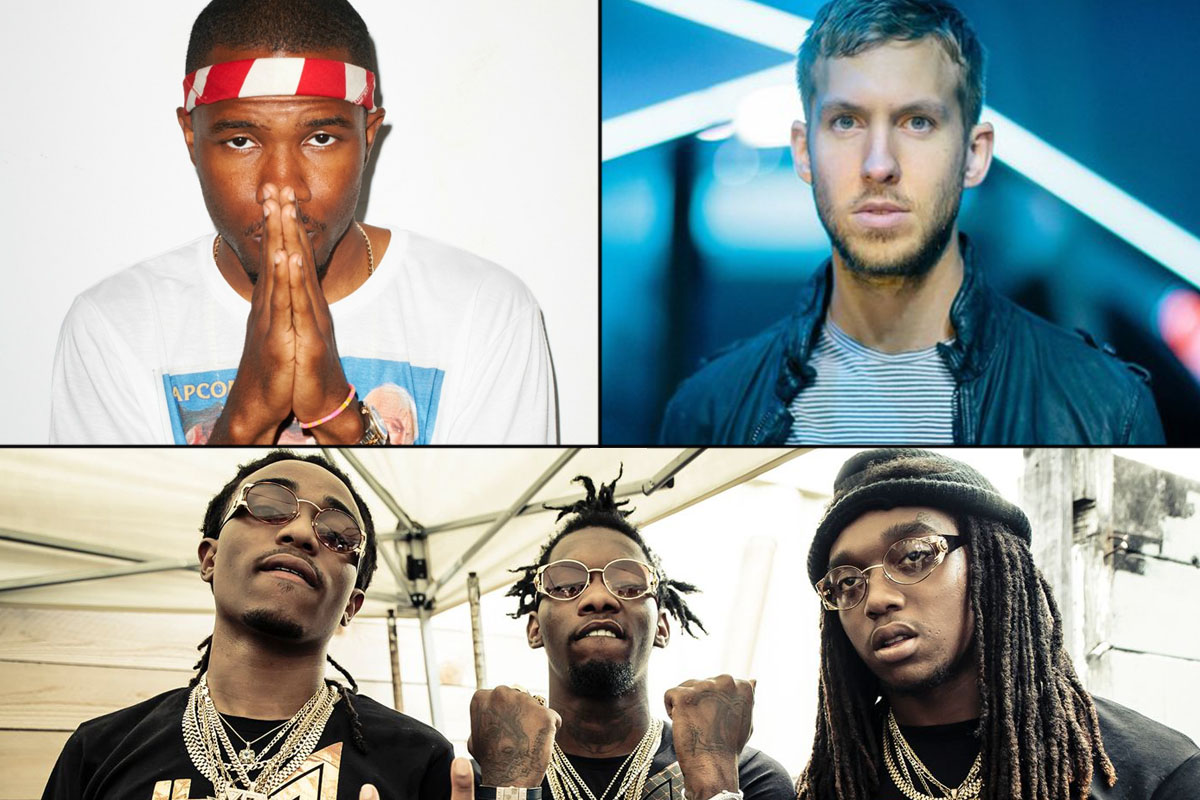 "Calvin Harris just dropped his new single ""Slide"" featuring Frank Ocean and Migos"