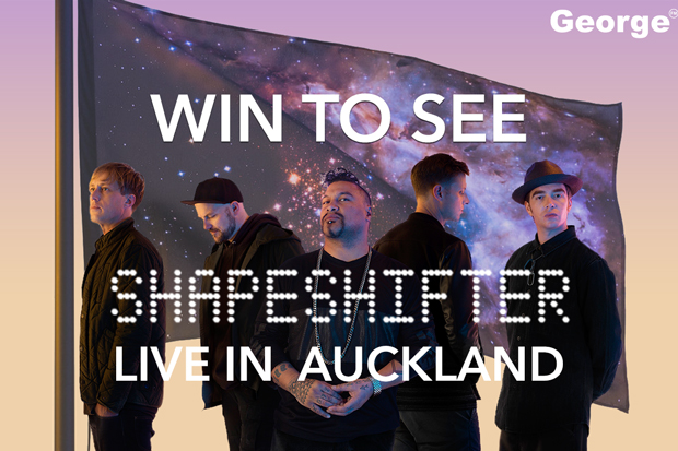 Win flights to see Shapeshifter at Auckland Viaduct Events Centre