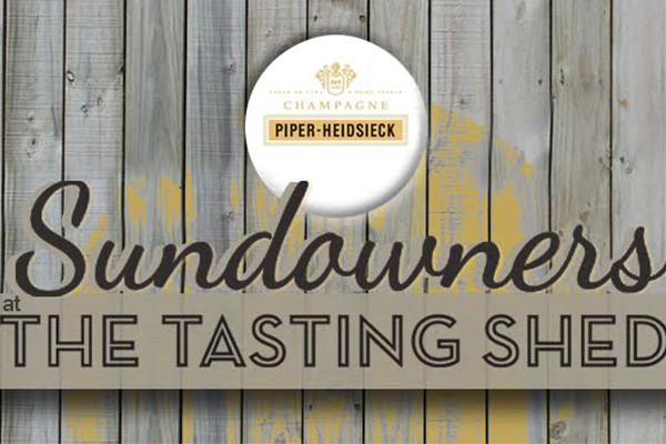 Sundowners at The Tasting  Shed